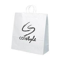 Customized White Duke Gift Bag