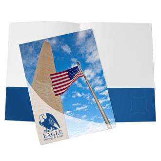 Customized Full Color Standard Pocket Folders