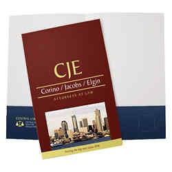 Page 2 of 2 - Custom Presentation Folders & Promotional Company