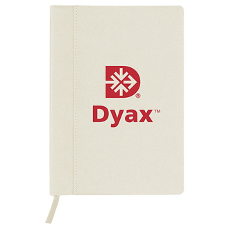 Customized Soft Touch Thelma Notebook with Ribbon Bookmark