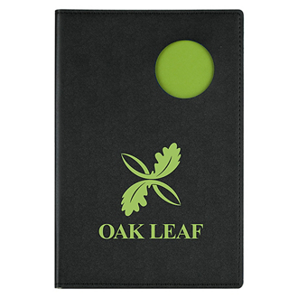 Customized Soft Touch Color Pop Notebook with Pocket