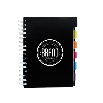 Customized Good Value™ Spiral Notebook w/ Tabs