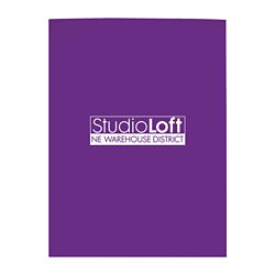 Customized Good Value™ Gloss Paper Folder