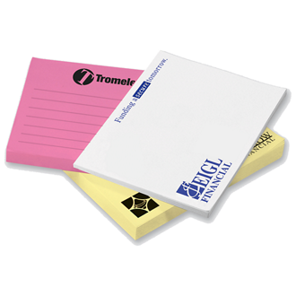 Customized 3''x4'' 50-Sheet Post-it® Notes