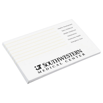 Customized 3''x5'' 50-Sheet Post-it® Notes