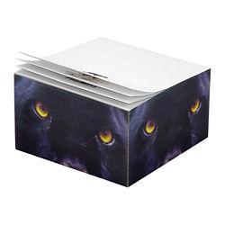 Customized 2 3/4''x 2 3/4''x1 3/8'' Half Cube Post-it® Notes