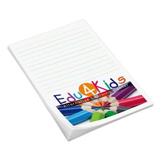 Customized Full Color 4''x6'' 25-Sheet Post-it® Notes