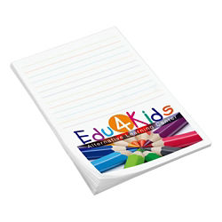 Customized Full Colour 4''x6'' 25-Sheet Post-it® Notes