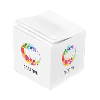 Customized Full Color 2 3/4''x2 3/4''x2 3/4'' Cube Post-it® Notes