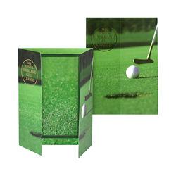 Customized Folded Vertical Golf Frame