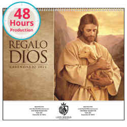 Customized Good Value™ Regalo de Dios Calendar (Spiral)