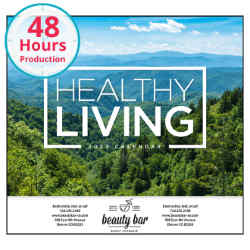Customized Good Value™ Healthy Living Calendar (Stapled)