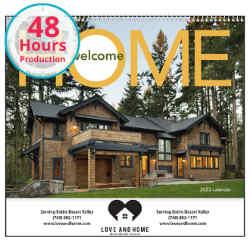 Customized Good Value™ Welcome Home Calendar (Spiral)