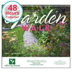 Customized Good Value™ Garden Walk Calendar (Spiral)