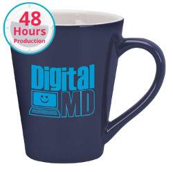 Customized 14 oz Designer Two-Tone Mug