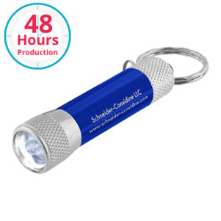Customized 3 LED Flashlight Keychain
