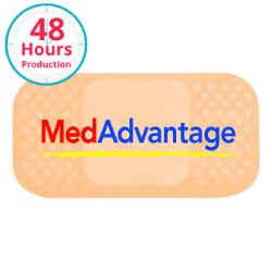 Customized Bic® Stock Shape Magnet-Bandage- 20 mil
