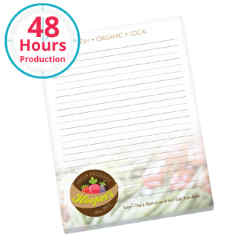 Customized BIC® 25 Sheet Non-Adhesive Scratch Pad - 8.5