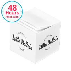 Customized 2 3/4''2 3/4''x2 3/4'' Cube Post-it® Notes