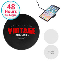 Customized Wireless Charging Pad with Rubber Trim