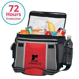 Customized Flip Flap Insulated Kooler Bag