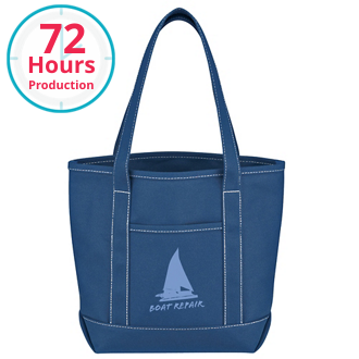 Customized Small Cotton Canvas Yacht Tote