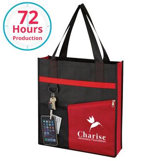 Customized Non-Woven Fashionable Tote Bag