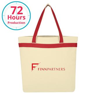 Customized Senado Canvas Tote Bag