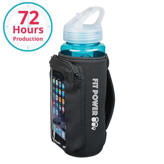 Customized Neoprene Bottle Kooler with Phone Holder