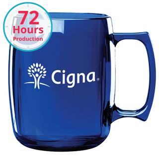 Customized Courier Mug - 14 oz