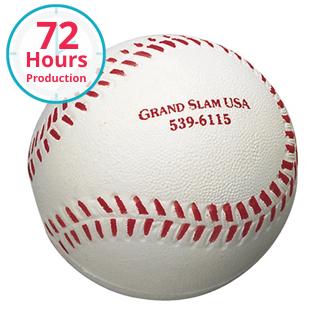 Customized Baseball Shape Stress Reliever