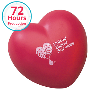 Customized Heart Shape Stress Reliever
