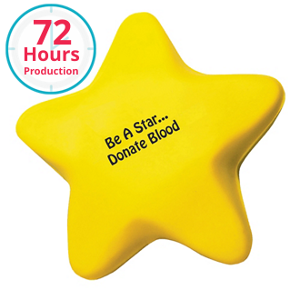 Customized Star Shape Stress Reliever