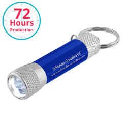 Customized LED Flashlight Key Chain