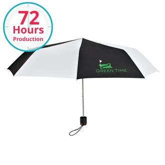 Customized Compact Telescoping Umbrellas with Logo