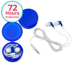 Customized Ear Buds with Case