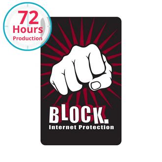 Customized RFID Data Blocker Card