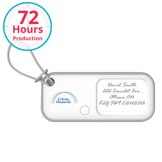 Customized BeagleScout Two-Way Tracker/Luggage Tag-Full Color
