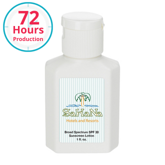 Customized 1 oz SPF 30 Sunscreen