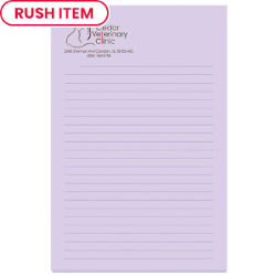 Customized 25 Sheet Bic® 4x6 Adhesive Note Pad