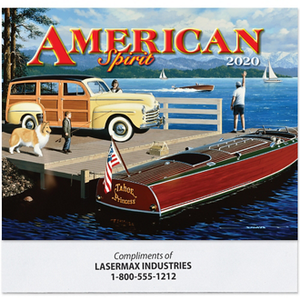 Customized American Spirit Calendar