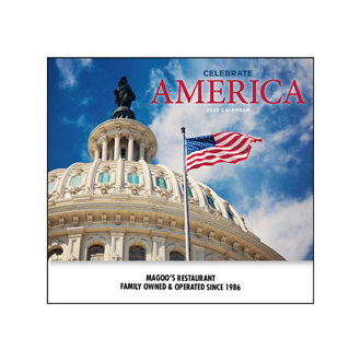 Customized American Patriotic Calendar