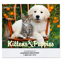 Customized Kittens and Puppies Calendar