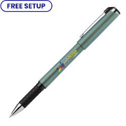 Customized Full Colour Inkjet Iridescent Soft Touch Hughes Gel Pen