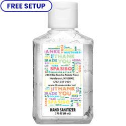 Customized Britebrand™ 2 oz. 70% Alcohol Antibacterial Hand Sanitizer
