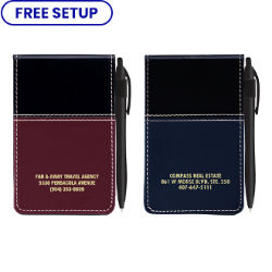Customized Royal Notepad with Pen