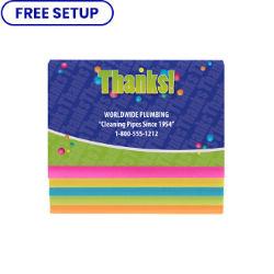 Customized Britebrand™ Cascading Sticky Notes