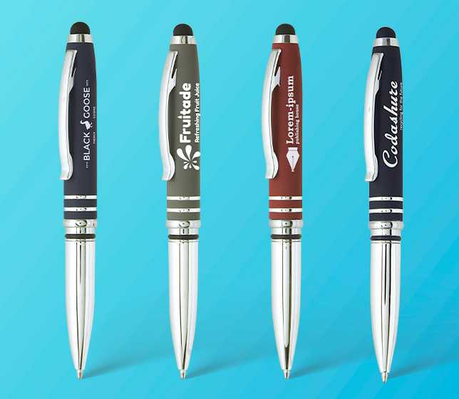 Sky Light Stylus Pen — Soft Touch - LNH