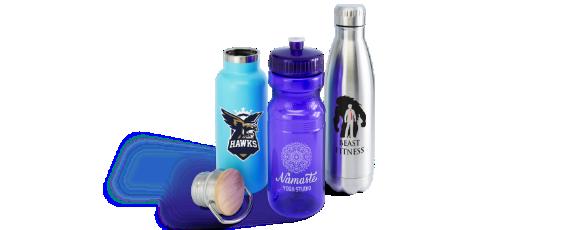 Custom Water Bottles Hero