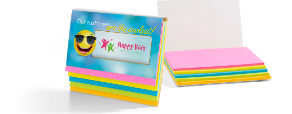 Promotional Sticky Notes Hero